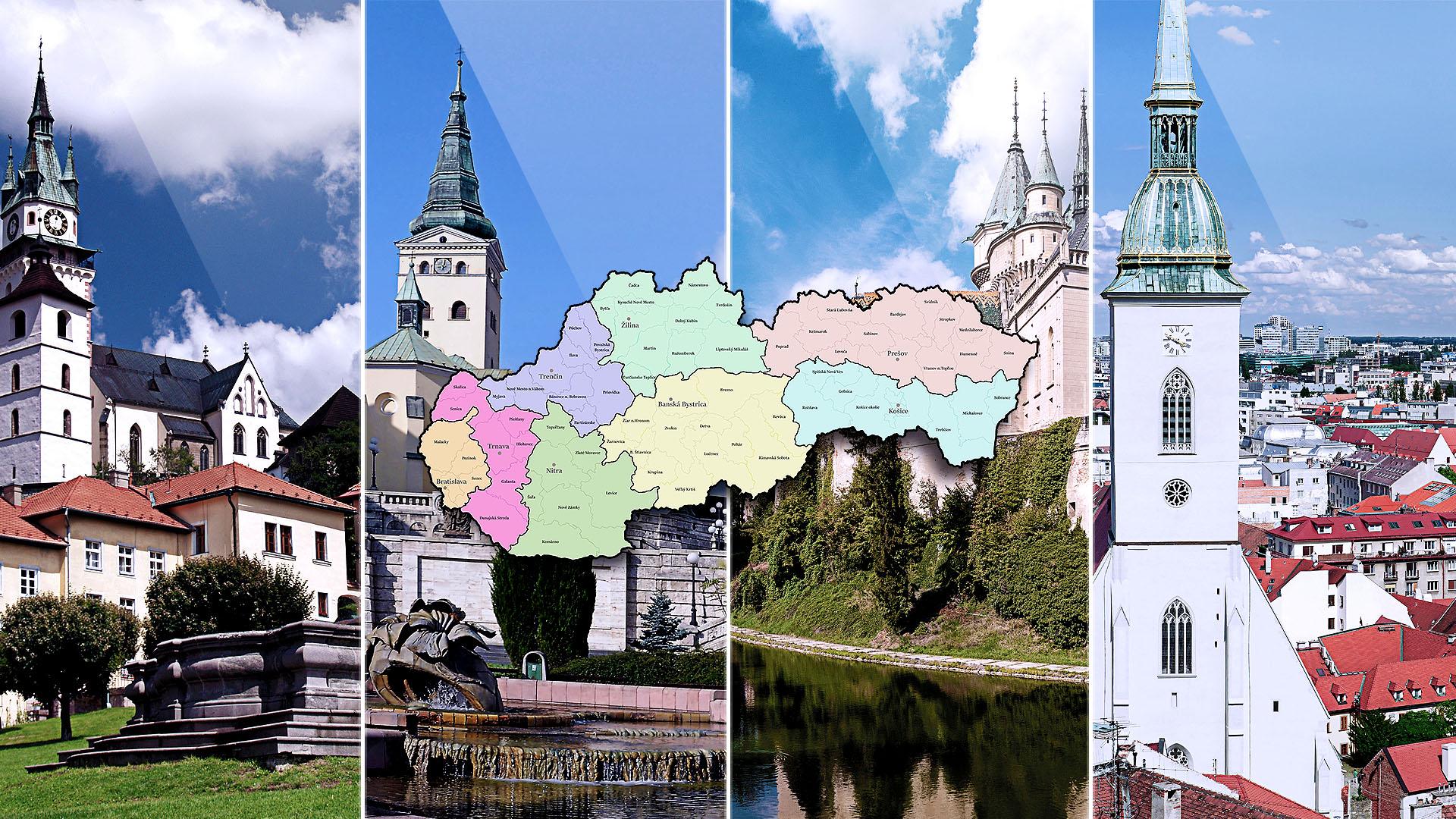 Naše regióny = silné Slovensko