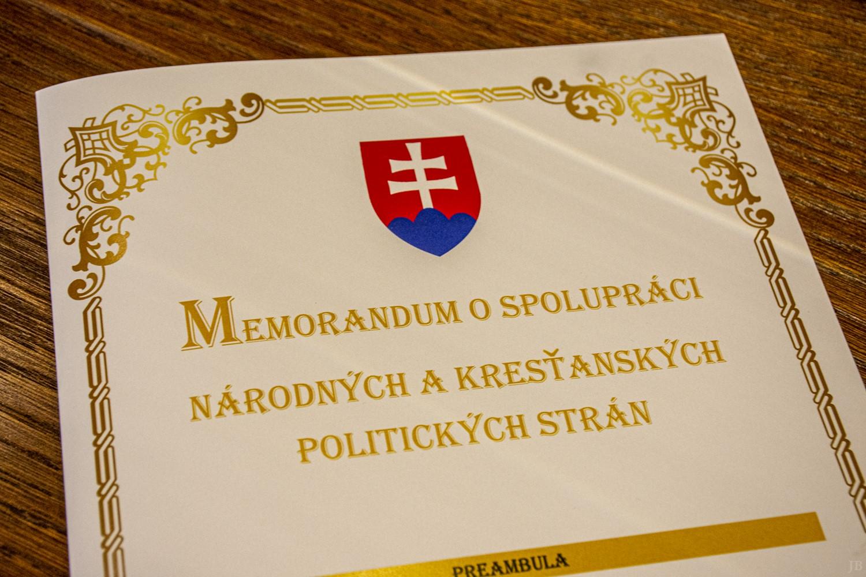 Zjednotenie pronárodných a kresťanských síl k akému nedošlo od roku 1993.